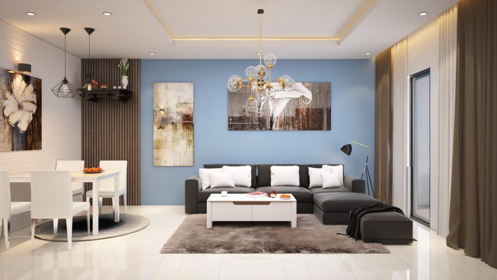 Thi công hoàn thiện nội thất nhà anh Việt