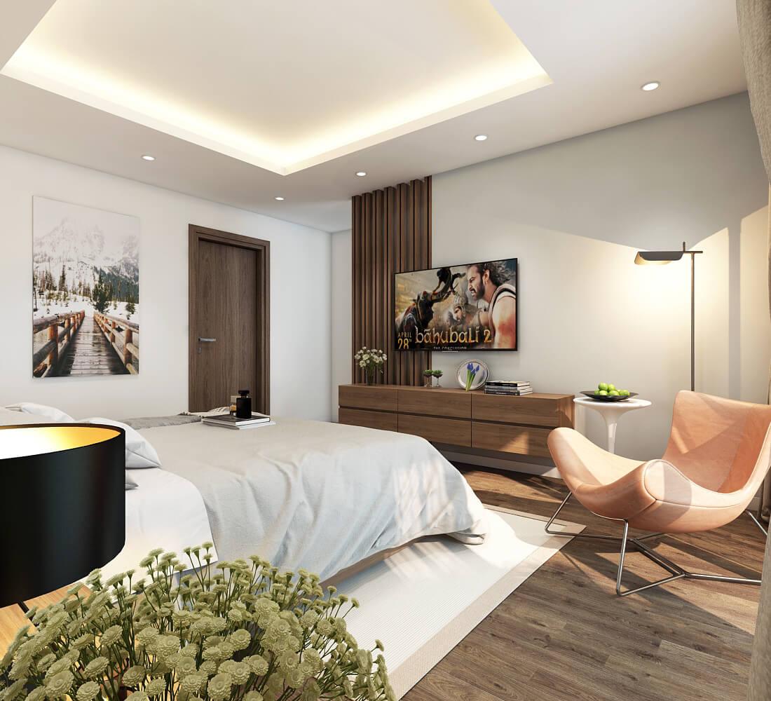 5 mẫu thiết kế nội thất chung cư 2 phòng ngủ đẹp, hiện đại, ấn tượng 14