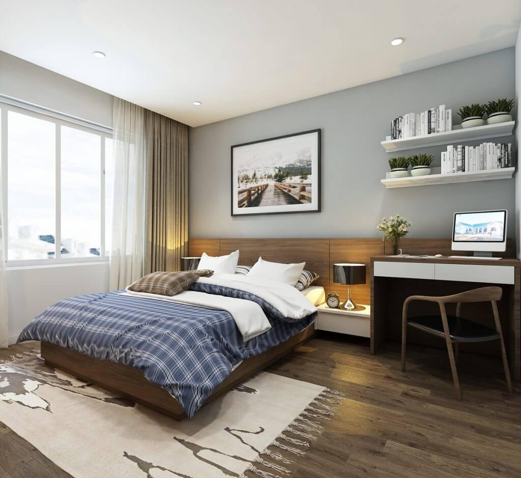 Kinh nghiệm thiết kế nội thất phòng ngủ cho bố mẹ