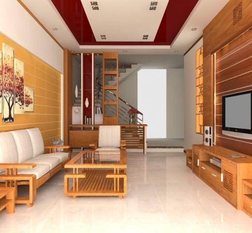 Kết quả hình ảnh cho nội thất gỗ phòng khách