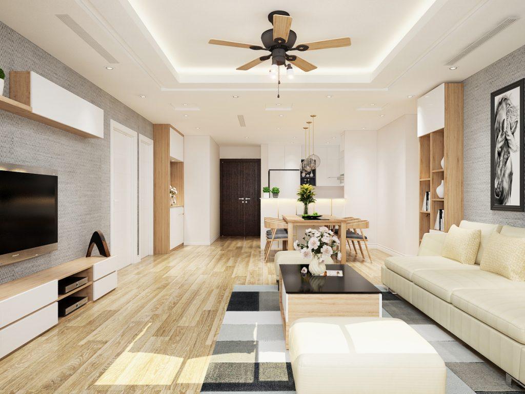 Sử dung gỗ công nghiệp trong thi công giúp căn nhà sang trọng hiện đại hơn