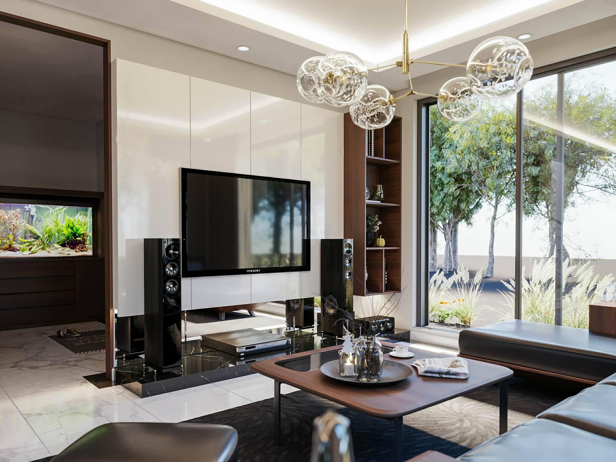 Thiết kế nội thất Biệt Thự Mimosa Aquabay