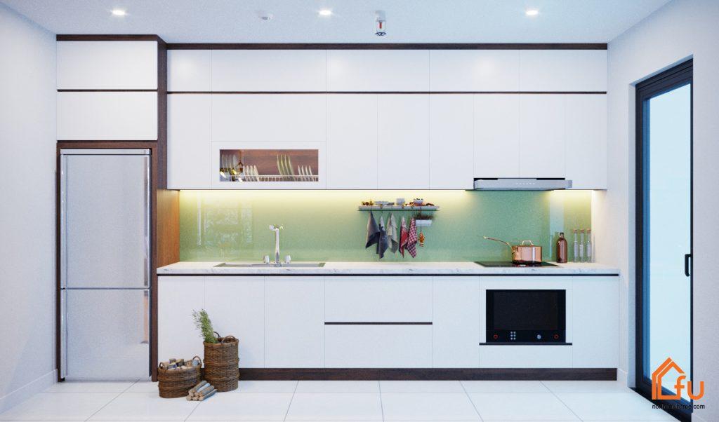Nội thất căn hộ chung cư cao cấp Gold Silk hiện đại, trẻ trung 3