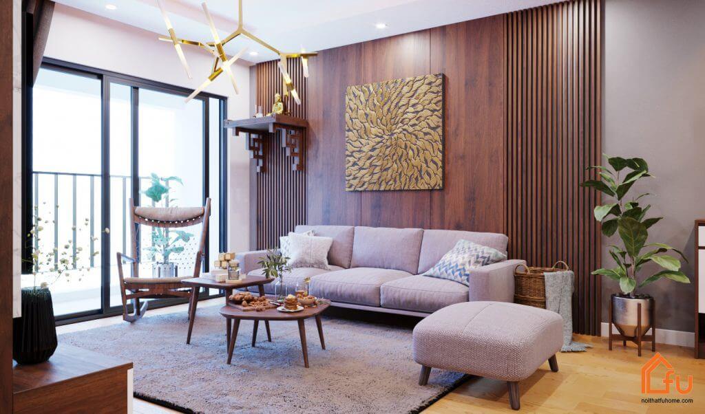 thiết kế thi công nội thất tại Hà Nội nahf anh giang