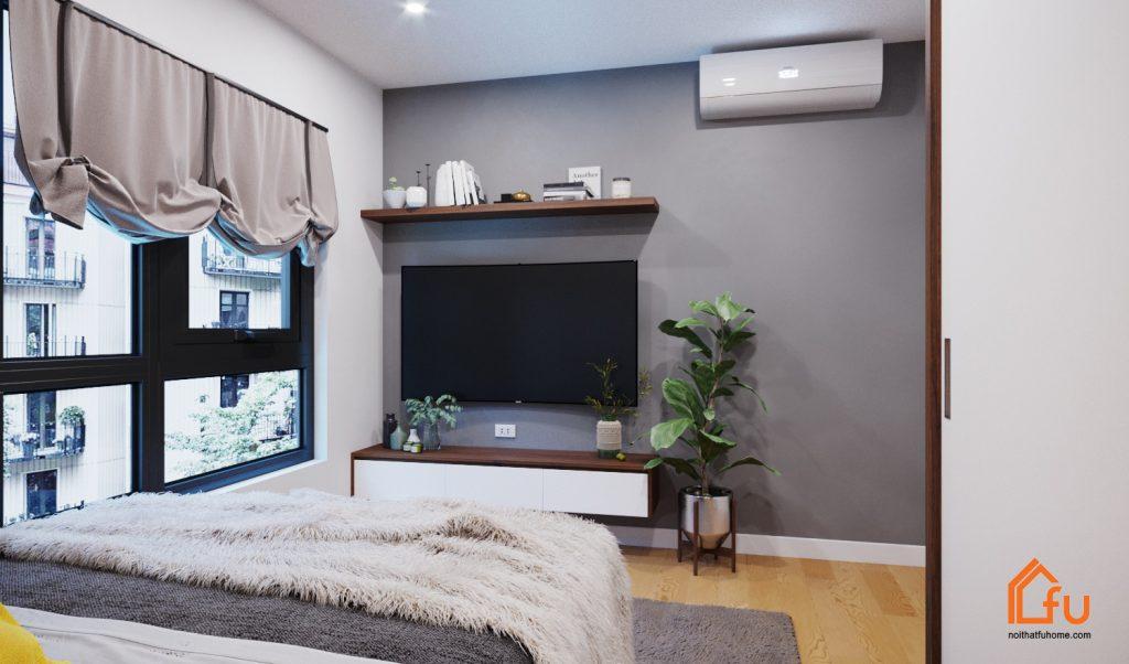 Nội thất căn hộ chung cư cao cấp Gold Silk hiện đại, trẻ trung 2