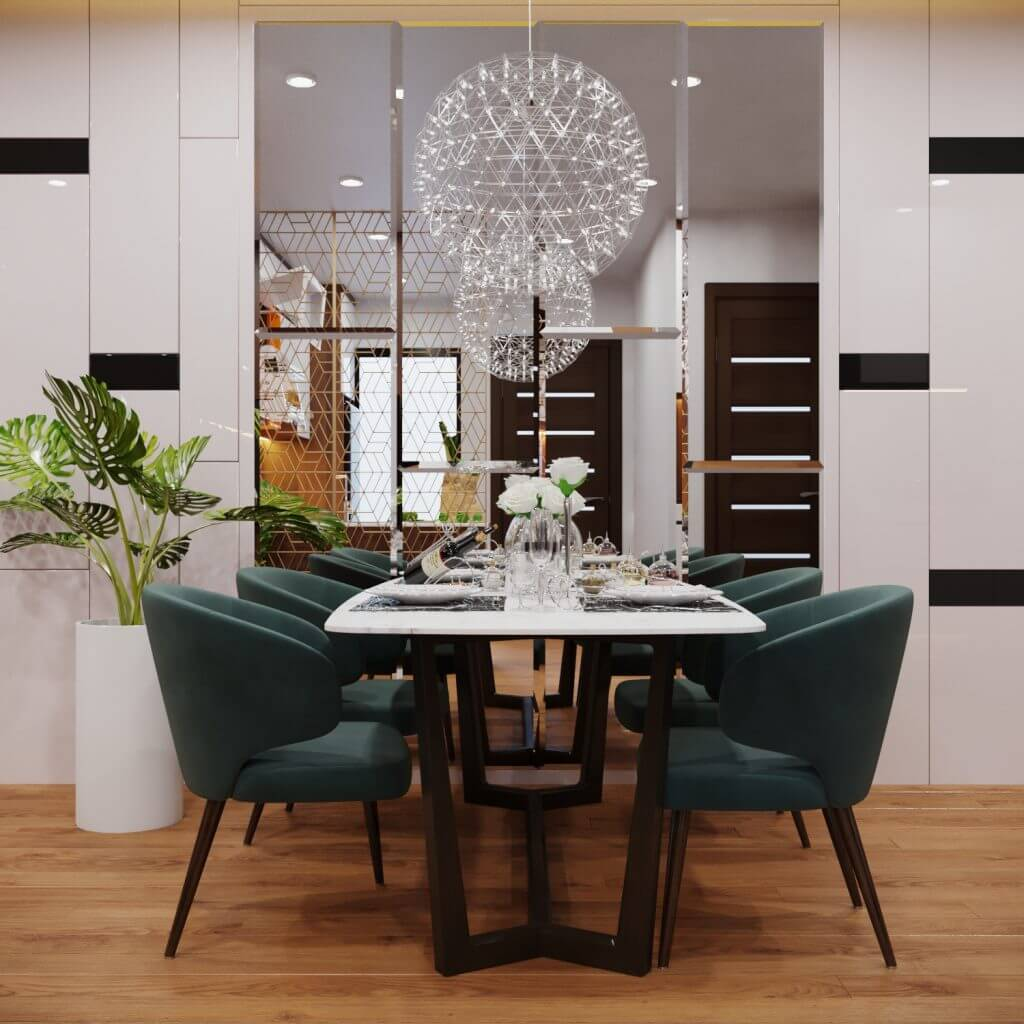 Nội thất căn hộ nhỏ - Nguyên tắc vàng để có căn hộ đẹp, rộng rãi 1