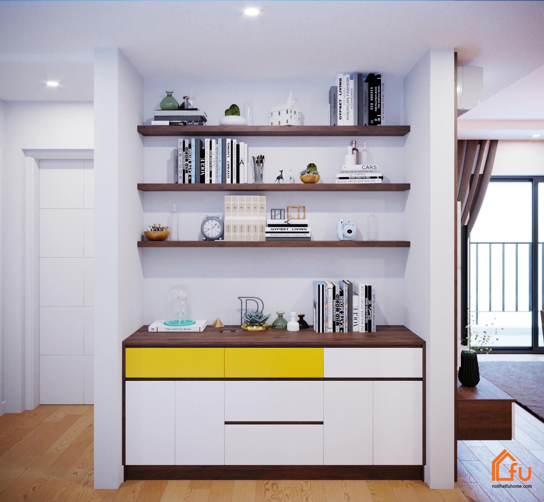 Tham khảo cách thiết kế nội thất chung cư 90m2 với 3 phòng ngủ