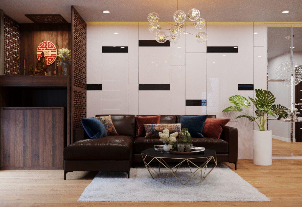 Những lợi ích từ dịch vụ thiết kế phòng khách chung cư 1