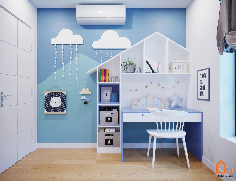 5 mẫu thiết kế nội thất chung cư 2 phòng ngủ đẹp, hiện đại, ấn tượng 12