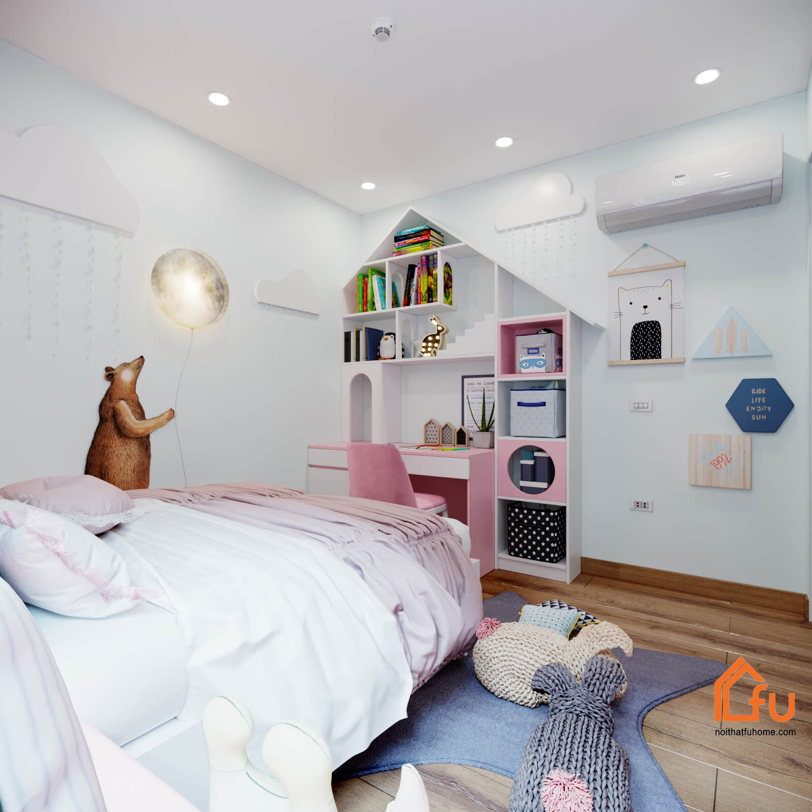 TOP 5 lưu ý khi thiết kế phòng ngủ cho bé TỐT NHẤT