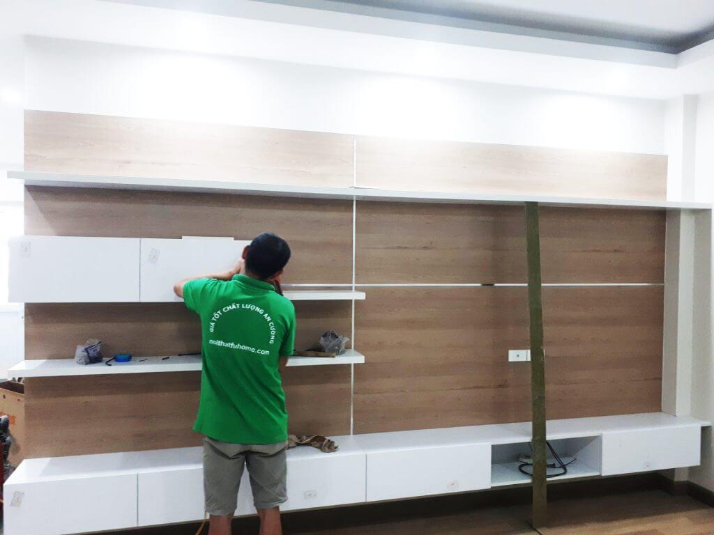 xưởng sản xuất đồ gỗ Hà Nội-Nội Thất Fuhome 2