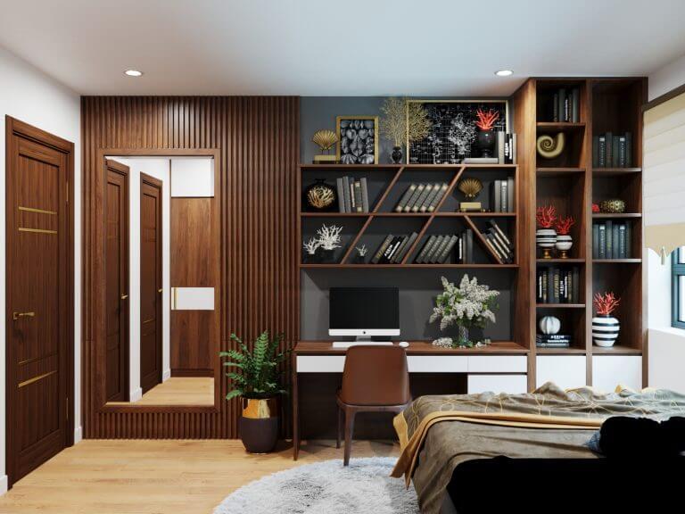 Những mẫu thiết kế nội thất chung cư Hà Nội khiến bạn mê mẩn 8