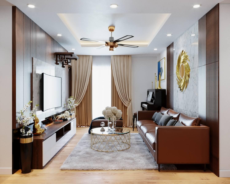 Mẫu thiết kế căn hộ chung cư đẹp theo xu hướng hiện đại