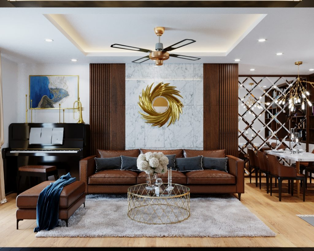Thiết kế nội thất chung cư SEASON AVENNUE 2