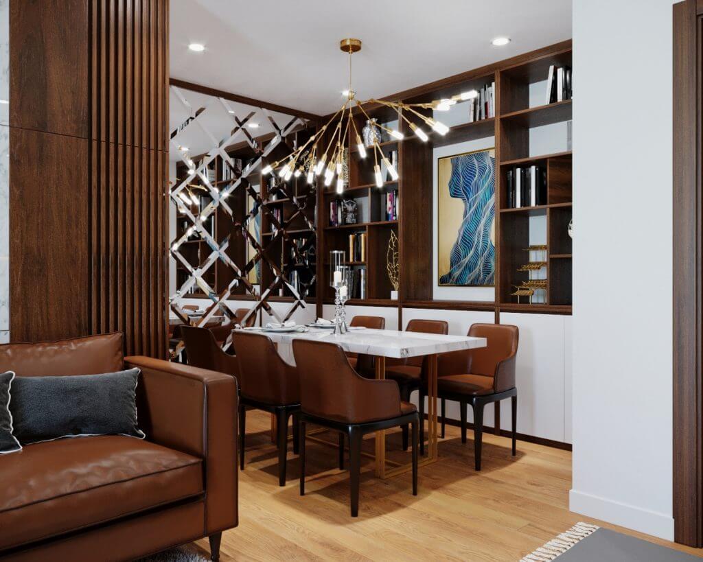 thiết kế thi công nội thất tại Hà Nội nhà anh Quân