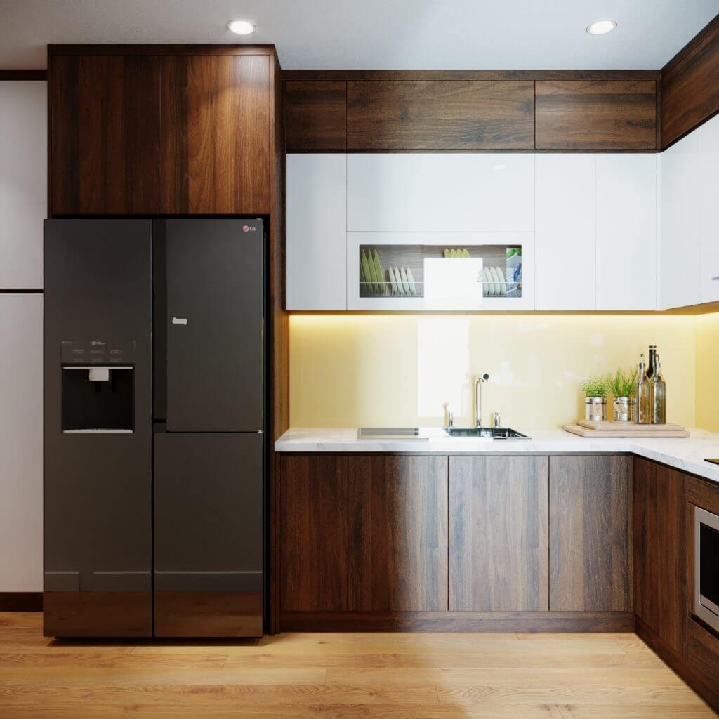 nội thất gỗ công nghiệp An Cường phòng bếp