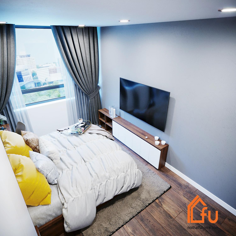 Nội thất Fuhome có kinh nghiệm chuyên sâu trong thiết kế nội thất chung cư 45m2 1