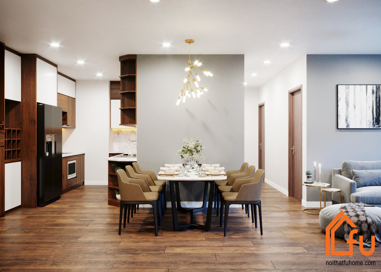 Nội thất Fuhome có kinh nghiệm chuyên sâu trong thiết kế nội thất chung cư 45m2 2