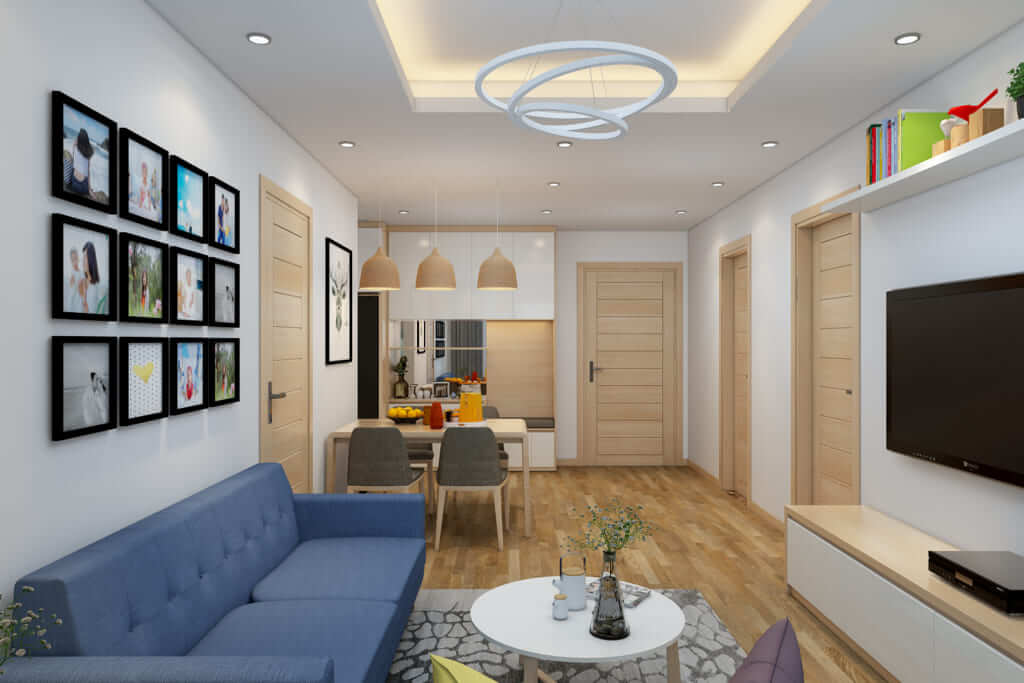 Những lưu ý khi tư vấn thiết kế nội thất căn hộ chung cư 2