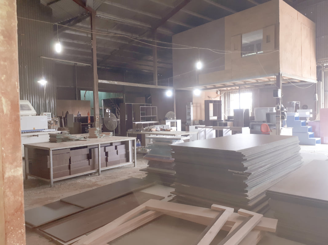Nội thất gỗ công nghiệp giá  xưởng