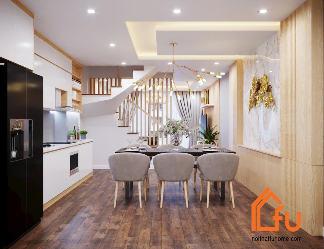 thiết kế thi công nội thất phòng bếp