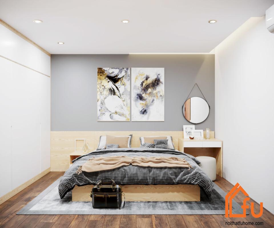 thiết kế thi công nội thất phòng master