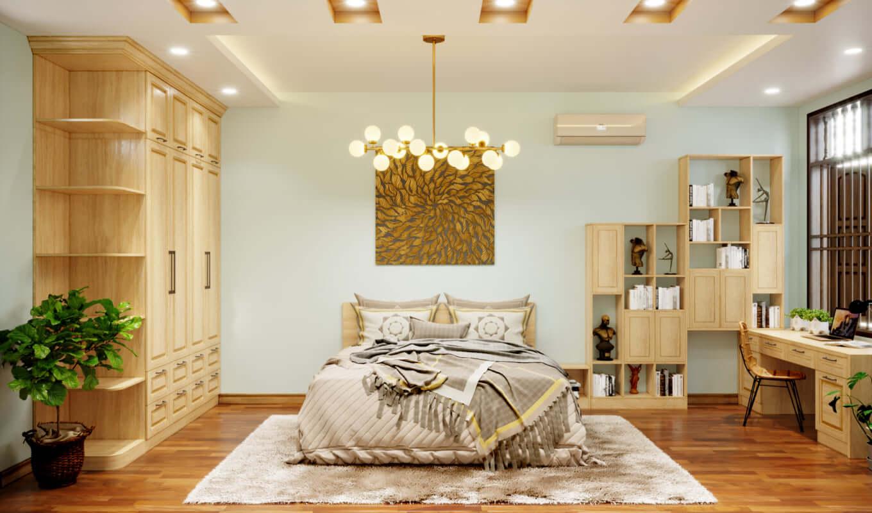 Nội thất Fuhome - Chuyên thi công thiết kế nội thất chung cư 80m2