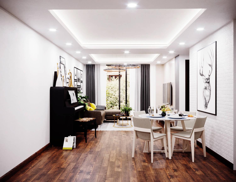 Những lưu ý khi thiết kế nội thất chung cư nhỏ 4