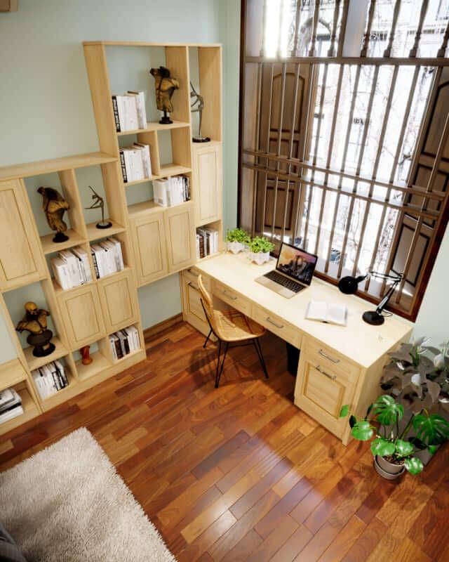 đồ gỗ nội thất gỗ công nghiệp 1