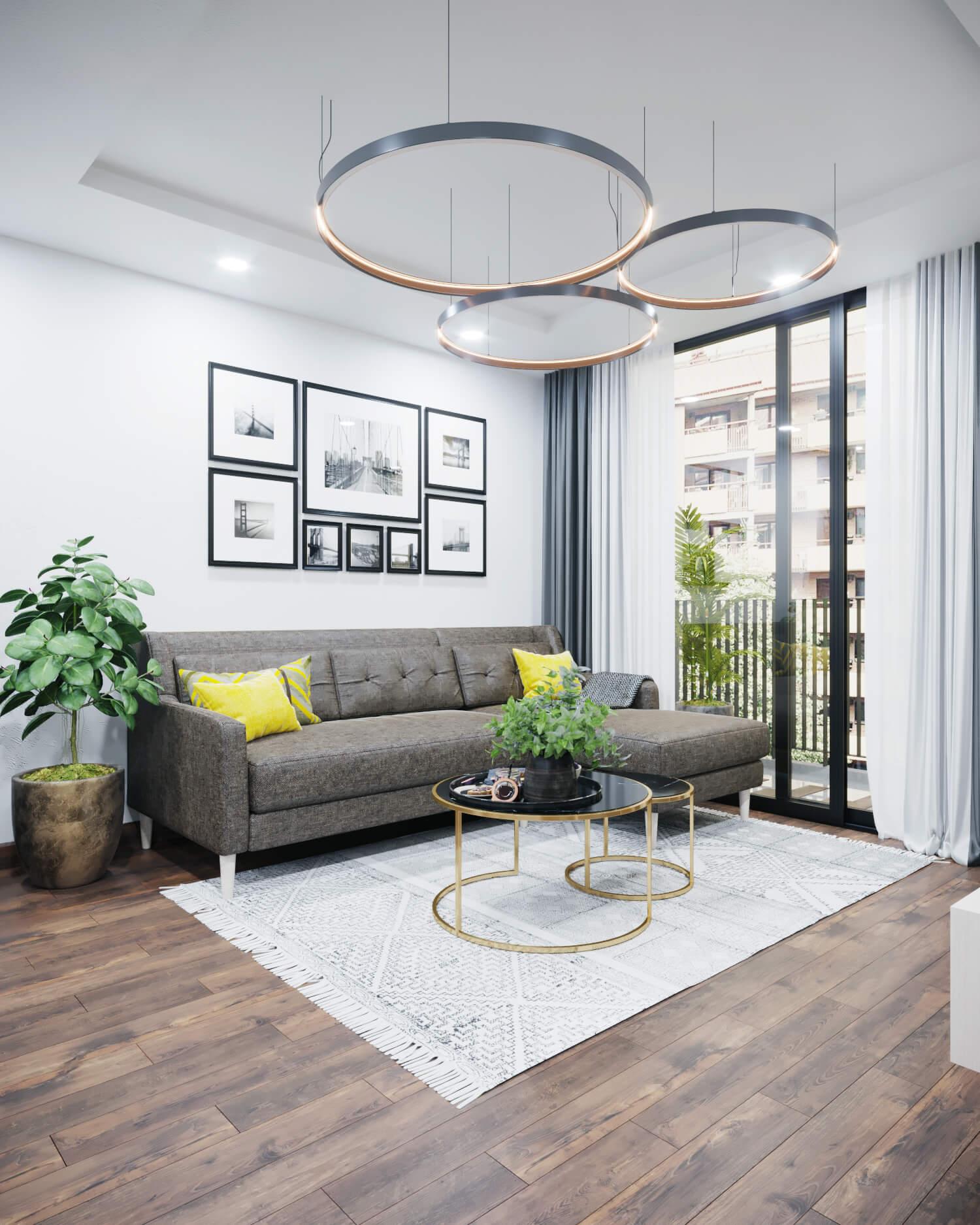 Những lưu ý khi thiết kế nội thất chung cư nhỏ 3