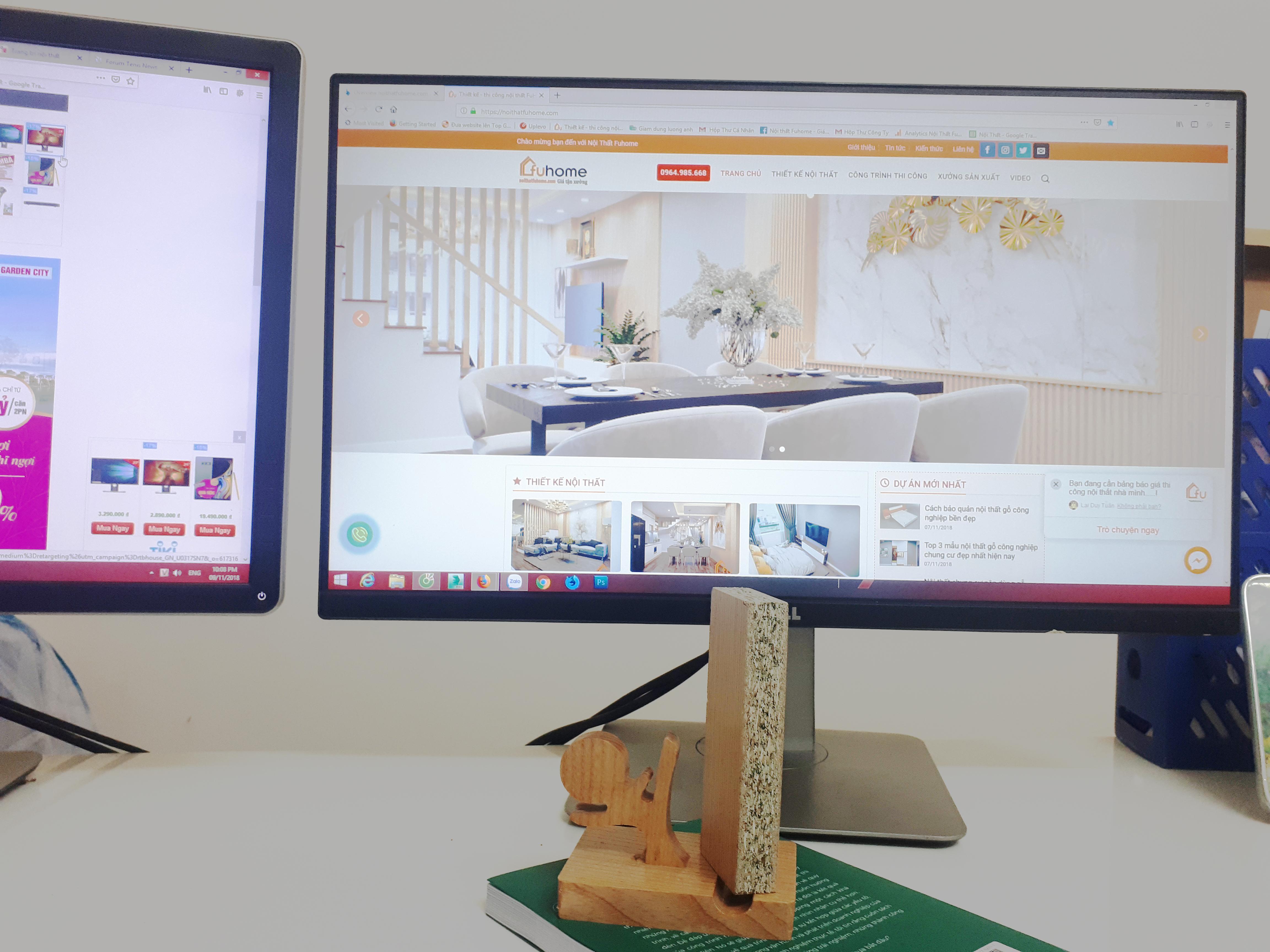 Ưu điểm gỗ công nghiệp khi làm nội thất chung cư