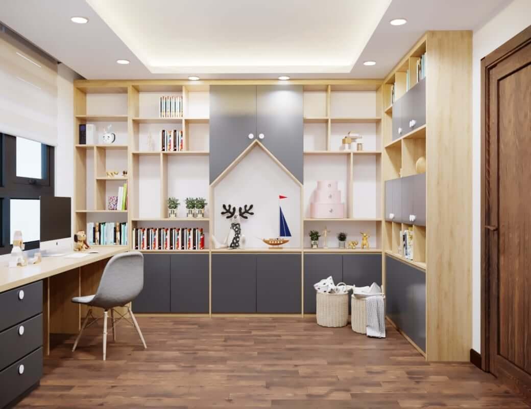 cách chọn nội thất gỗ cho bàn làm việc