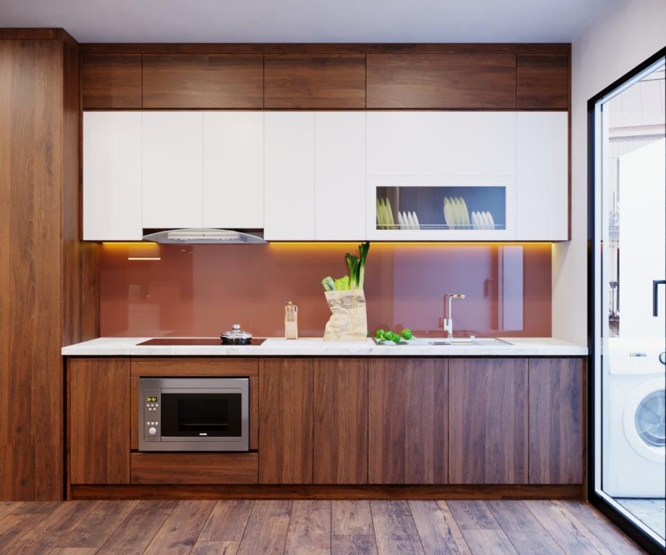 Nên lựa chọn đồ nội thất cho phòng bếp có khả năng chịu ẩm và nhiệt tốt
