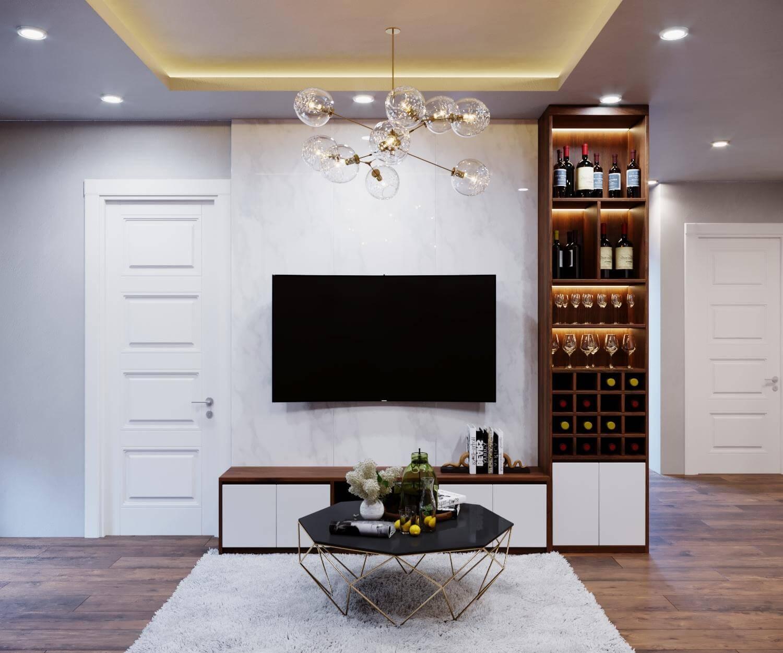 Những mẫu thiết kế nội thất chung cư 80m2 đẹp nhất 2019 2