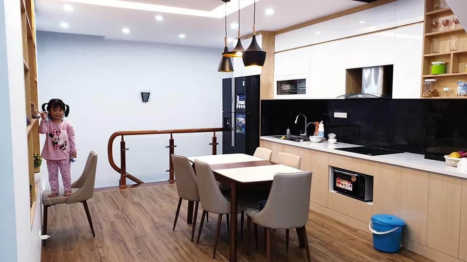 nội thất phòng bếp gỗ công nghiệp