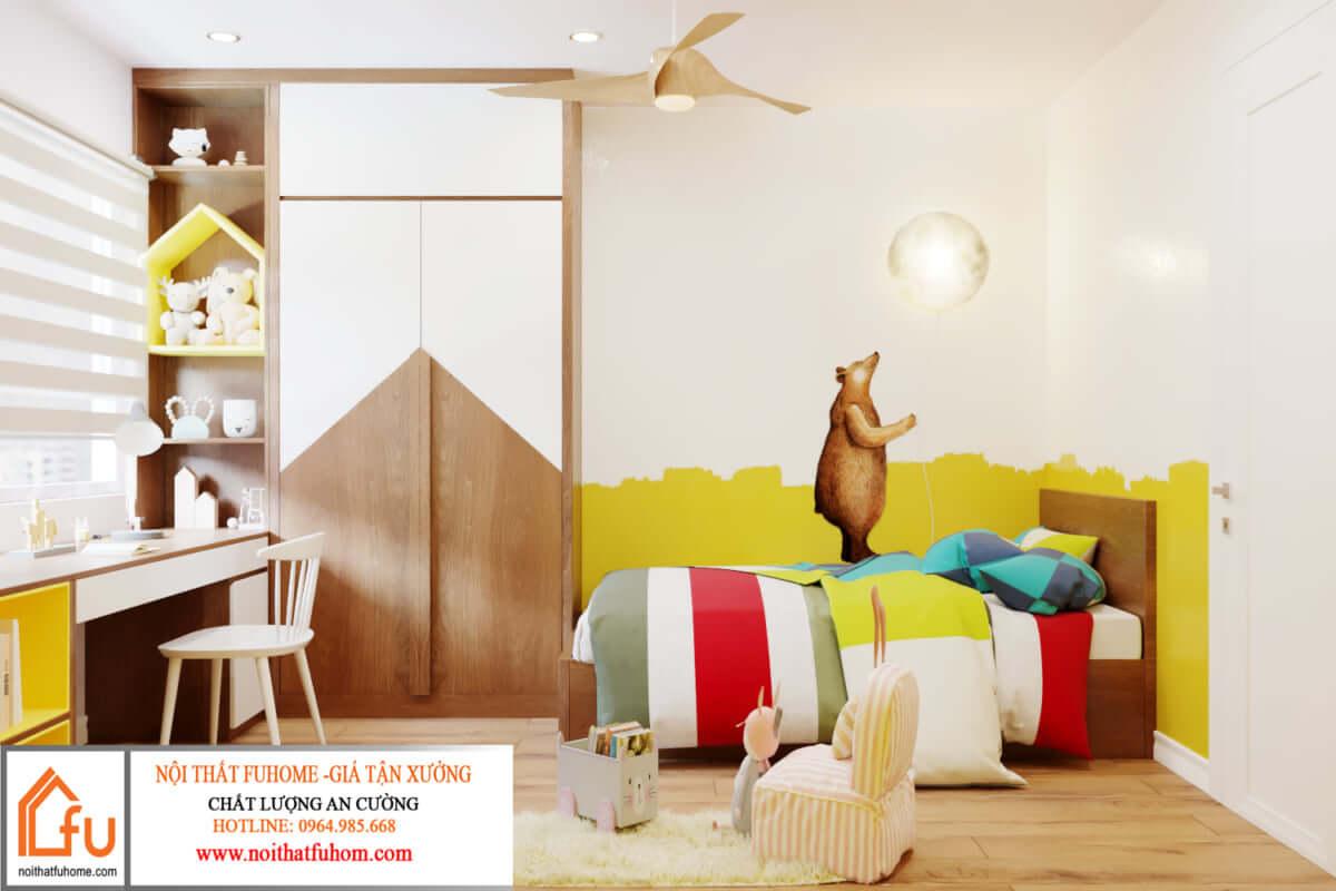 Nội thất Fuhome - Thi công thiết kế tủ quần áo MFC chất lượng tốt giá thành hợp lý