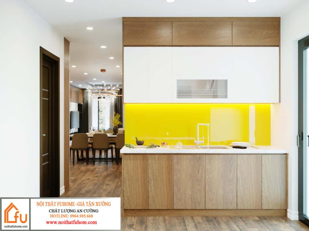 thiết kế nội thất căn hộ hiện đại 2