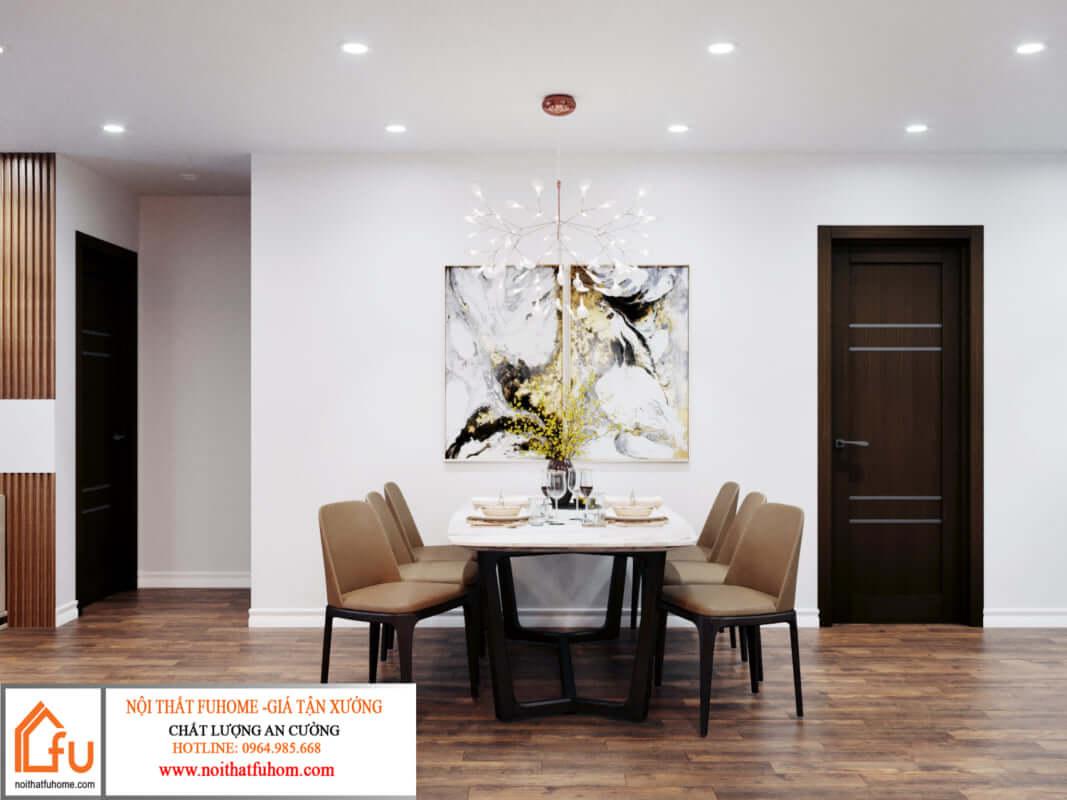 Thiết kế thi công nội thất chung cư sau khi hoàn thiện