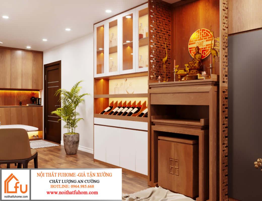 Đồ nội thất từ gỗ công nghiệp có độ bền cao, tính thẩm mỹ lớn