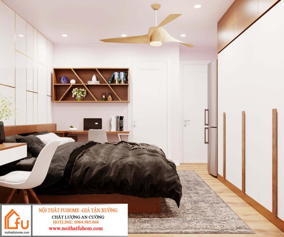 thiết kế nội thất căn hộ hiện đại 5