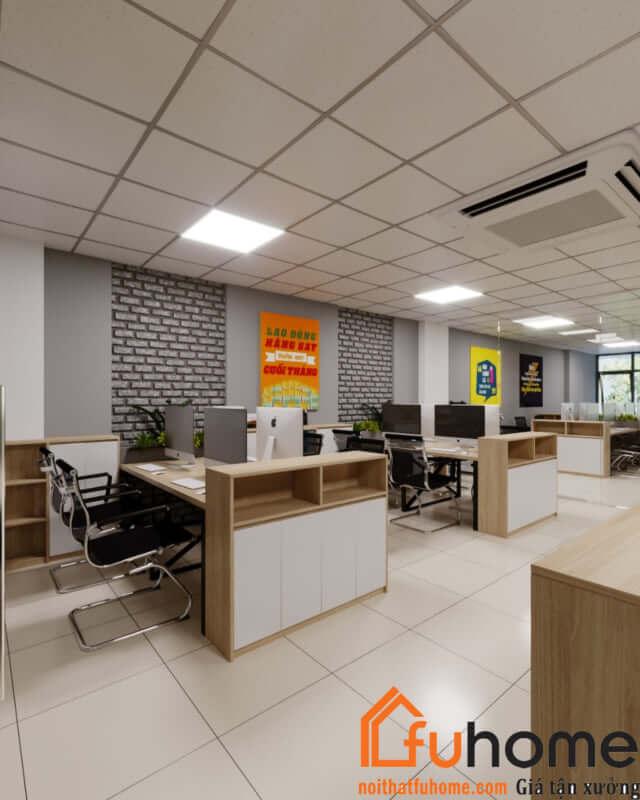 Nội thất Fuhome - Đơn vị thi công thiết kế nội thất văn phòng hiện đại chất lượng nhất