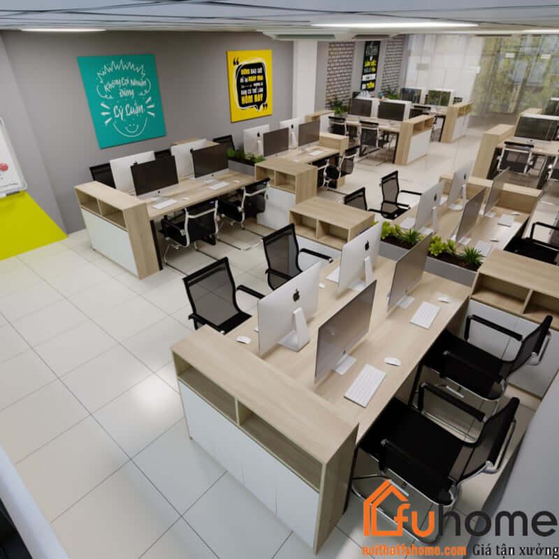 Xu hướng thiết kế văn phòng hiện đại được nhiều công ty lựa chọn