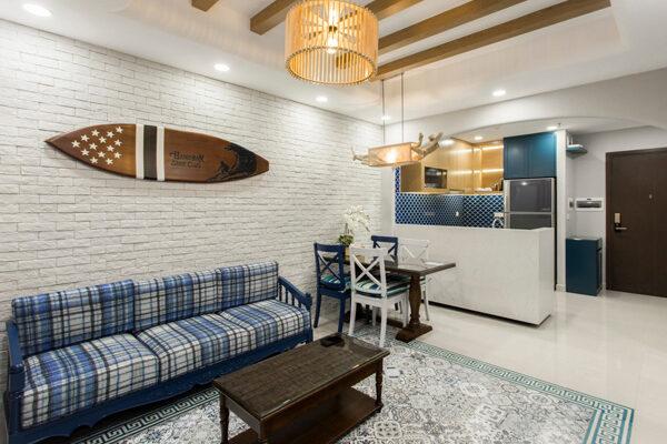 Những mẫu thiết kế nội thất chung cư 90m2 đẹp và tiện nghi 4