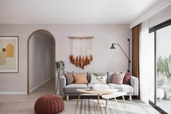Những mẫu thiết kế nội thất chung cư 90m2 đẹp và tiện nghi