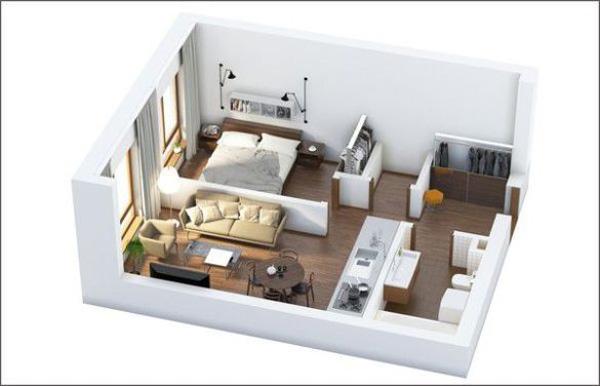 Những ý tưởng mới mẻ cho thiết kế nội thất chung cư