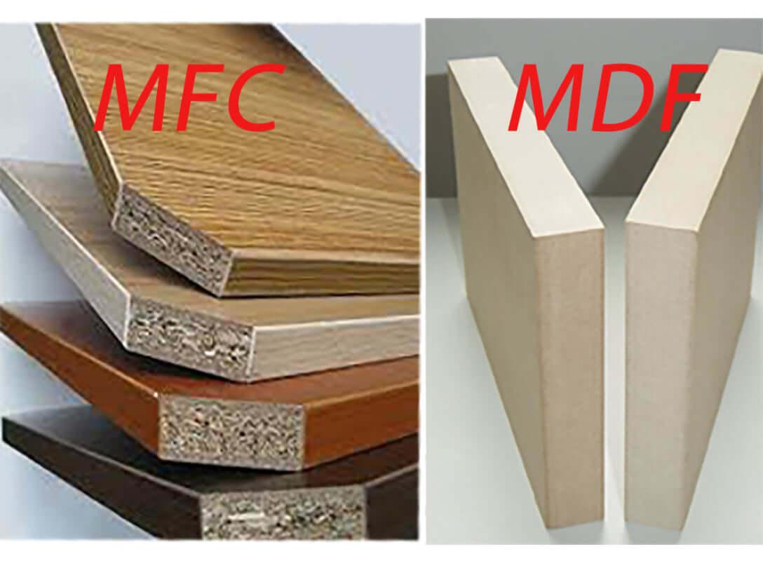 Gỗ MFC và MDF cái nào tốt hơn?