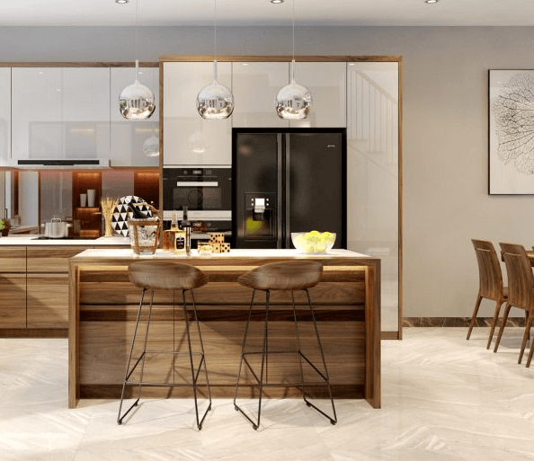 Thiết kế nội thất biệt thự tạo ra không gian sống tươi mới hơn
