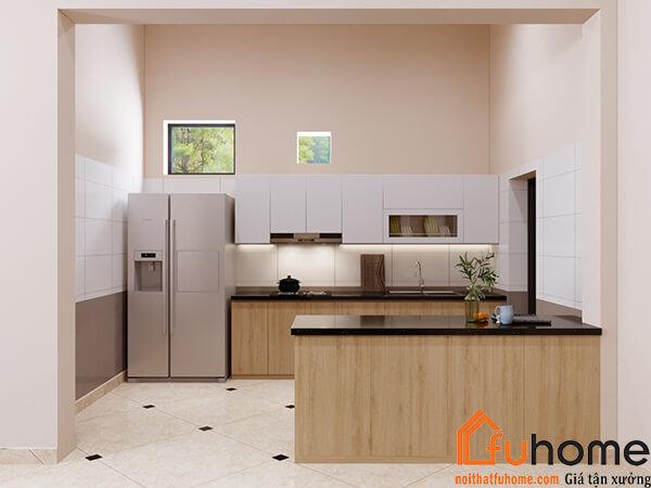 Nội thất gỗ Thái Lan - phòng bếp