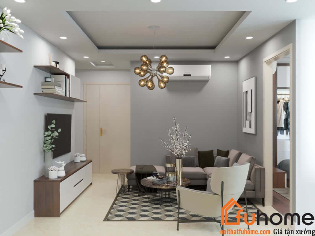 Thiết kế căn hộ chung cư 30m2  4