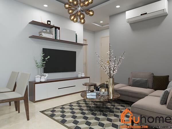 Thiết kế thi công nội thất nhà Chị Tuyến tại RubiCity 7